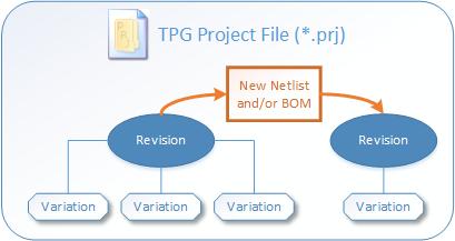 TPG Project Management Diagram