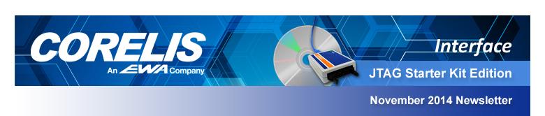 Corelis Interface: November 2014 Quarterly Newsletter